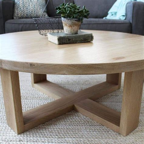 Creative home round coffee table nordic solid wood furniture side table for sofa round living room hwc tericafre $ 24.90 free. Round All Wood White Oak Coffee Table, Modern Solid Wood in 2020 (With images) | White oak ...