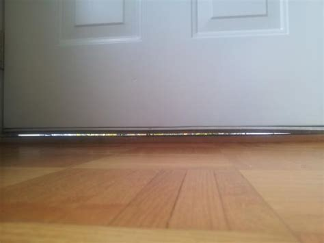 Gap Under The Front Door Entrance For Ants Help