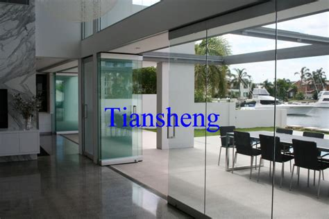stacking sliding glass doors folding partition wall
