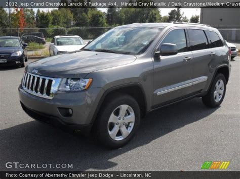 dark gray jeep grand cherokee mineral gray metallic 2012 jeep grand cherokee laredo x