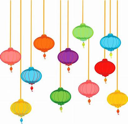 Lantern Chinese Clipart Paper Lanterns Clip Cliparts