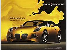 Underrated Ride Of The Week 20072009 Pontiac Solstice