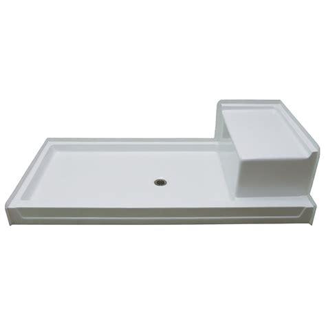 72 x 36 shower pan aquarius acrylx 72 x 36 shower pan with seat g7236sh