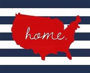 U S Home 4th of July Printable Free Printable Included