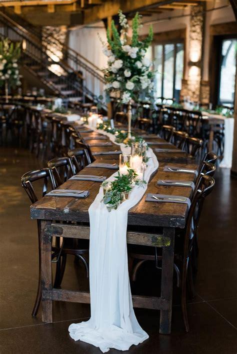 classic green and white lush bridal wedding decorations wedding flowers wedding