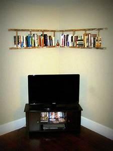Ladder, Book, Shelf
