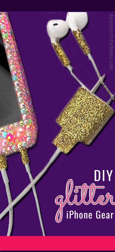 glitter  iphone gear   neat diy trick