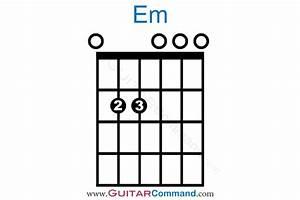Em Chord Guitar Fretboard Diagrams  U0026 Information
