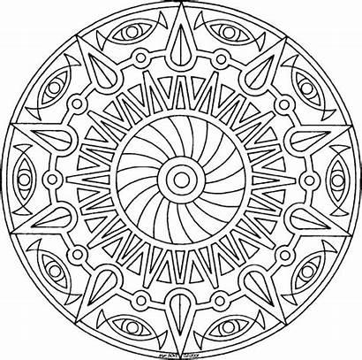 Mandala Coloring Pages Printable Spiritual Amazing