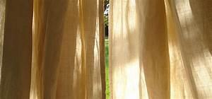 Rideau Couleur Or : rideau couleur chanvre ~ Teatrodelosmanantiales.com Idées de Décoration