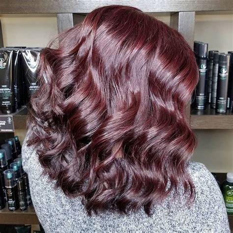 mitchell paul hair xg noir 7rv shines 5vr pinot 5rv pulled through olaplex volume instagram coloring medium sally rv cb