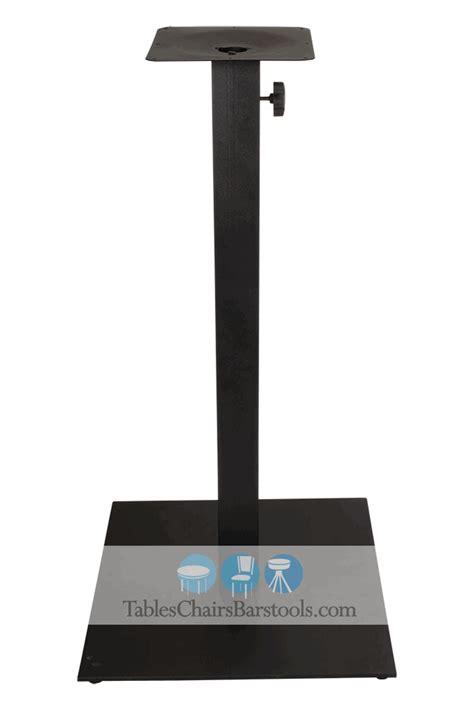 22 quot indoor outdoor bar height newport steel table base