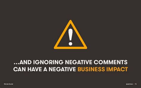 …and Ignoring Negative Comments Can