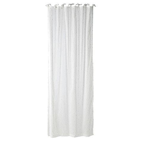 rideau 224 nouettes en coton blanc 102 x 250 cm 201 toile
