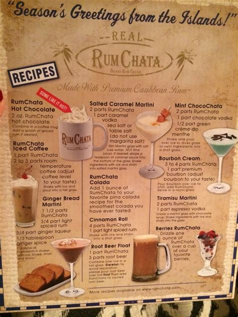 Crecipe.com deliver fine selection of quality rum chata recipes equipped with ratings, reviews and mixing tips. Rum Chata drink recipes   Rumchata recipes drink, Chocolate vodka, Caramel vodka
