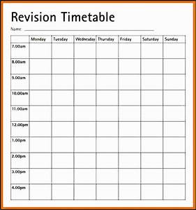revision plan template rst1e luxury of revision timetable With blank revision timetable template
