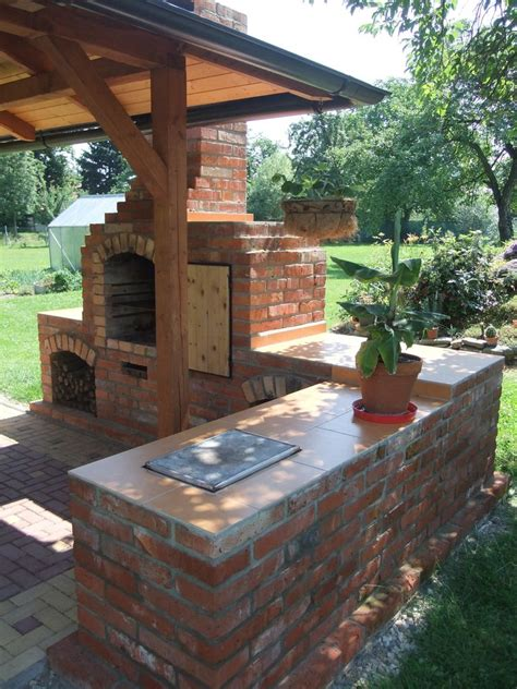 Bbq And Fireplace - diy outdoor fireplace with grill