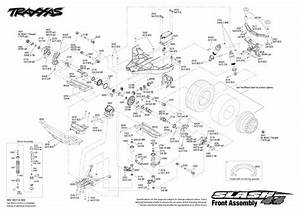 Cars  U0026 Trucks - Replacement Parts - Traxxas Parts - Electric - Slash 4x4