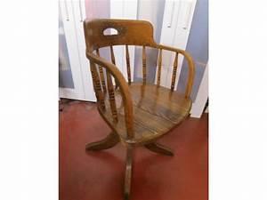Chaise De Bureau Bois : chaise de bureau bois massif ann es 1940 bruxelles capitale ~ Teatrodelosmanantiales.com Idées de Décoration