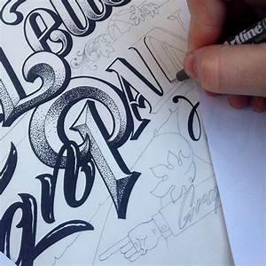 Hand lettered artwork by carl fredrik angell for Sign painting lettering