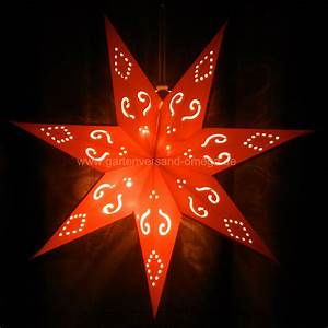 Stern Beleuchtet Weihnachten : batteriebetriebener led papierstern rot papierstern kabellos beleuchteter papierstern ~ Markanthonyermac.com Haus und Dekorationen
