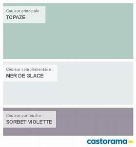 Bleu De Travail Castorama : castorama nuancier peinture mon harmonie peinture topaze ~ Dailycaller-alerts.com Idées de Décoration