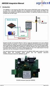 Agrident Abr200 Abr200 Oem Rfid Reader Module  134 2khz