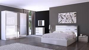 deco pour chambre deco chambre parentale design With idee de decoration pour chambre a coucher