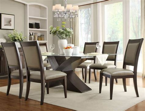 Dining Room Table Sets by Glass Dining Rooms Sets Kitchen Table