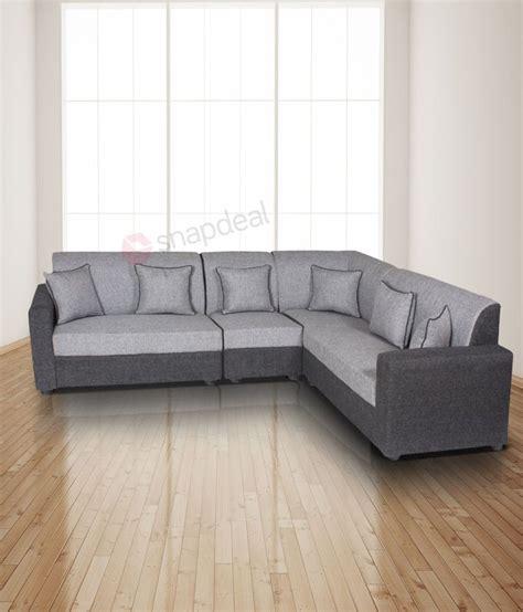 Shopping For Sofa Set by Gioteak L Shaped Grey 2 2 1 Corner Sofa Set Buy