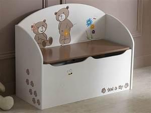 Banc Coffre A Jouet : coffre jouets banc litlle ~ Teatrodelosmanantiales.com Idées de Décoration