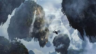 Avatar Wallpapers Fantasy Desktop Ship Floating Background