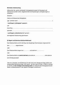 Rechnung Formulieren : kostenlose vorlagen f r alle arten von arbeitsvertr ge ~ Themetempest.com Abrechnung