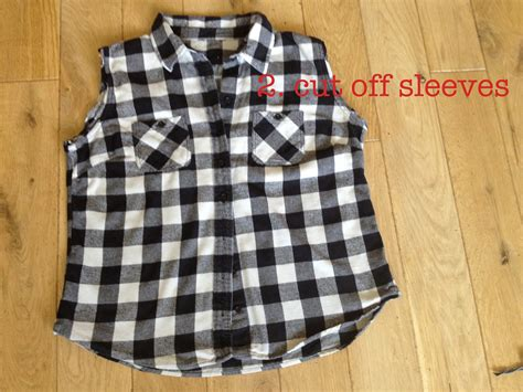 Diy Cropped Flannel Shirt By Hand London