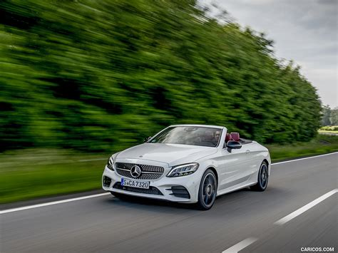 Unfollow mercedes c class coupe 2019 to stop getting updates on your ebay feed. 2019 Mercedes-Benz C-Class C300 Cabrio (Color: Diamond White) - Front Three-Quarter   HD ...