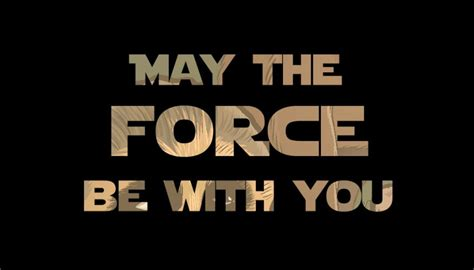 May the 4th - force - be with you - variationsphase