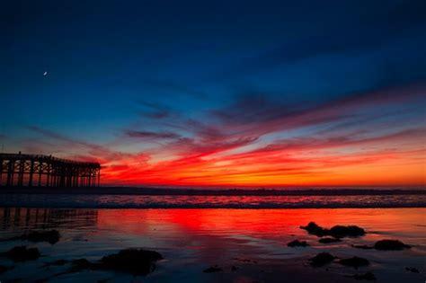 San Diego Sunset Laundelles