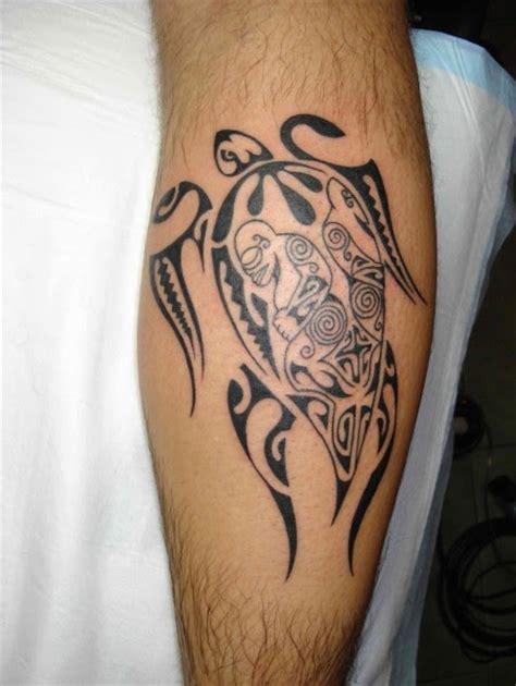 tribal tattoo design turtle bali tattoos