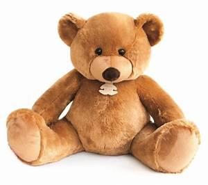 Ours En Peluche Xxl : histoire d ours peluche bel 39 ours miel xxl 130 cm ~ Teatrodelosmanantiales.com Idées de Décoration
