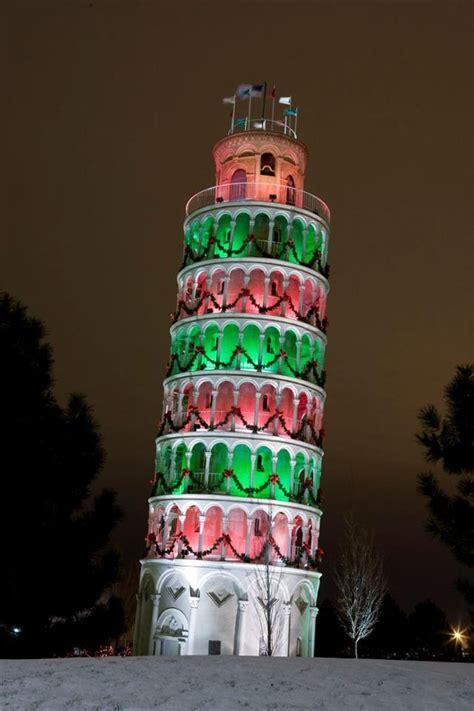 leaning tower  pisa  christmas christmas