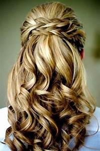 Half up half down, Down wedding hairstyles and Half up on ...