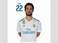 Postal Real Madrid 20172018 Isco Nosoloposterscom