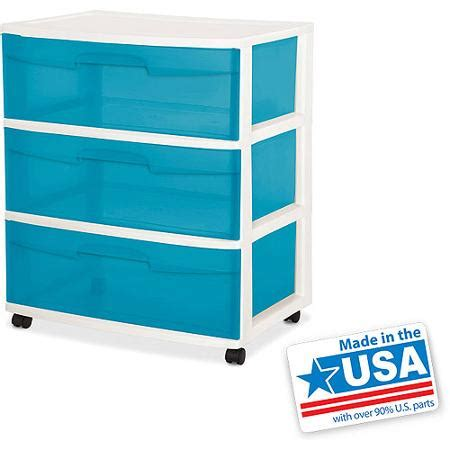 kitchen cabinets cheapest buy sterilite 3 drawer wide cart aqua blue tint in cheap 2918