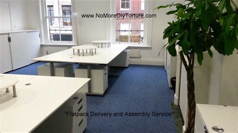 Ikea Galant File Cabinet Assembly by Ikea Flatpack Office Furniture Galant Series V2 Youtube
