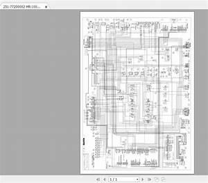Kato Kr-10h Crane Electrical Diagram 77200002