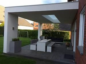 Moderne Carports Mit Glasdach : terrassendach modern mit lichtausschnitt haus pinterest ~ Markanthonyermac.com Haus und Dekorationen