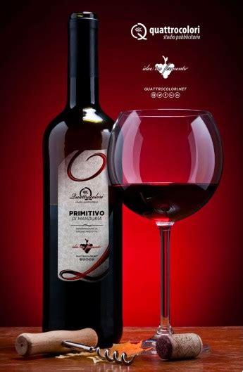 bottiglie  vino primitivo  manduria  etichetta