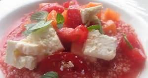 Melone Mit Schafskäse : hamburg kocht melonen couscous mit tomaten und schafsk se nach betty bossi ~ Watch28wear.com Haus und Dekorationen