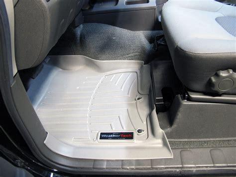 Weathertech Floor Mats Nissan Xterra Weathertech Front Auto Floor Mats Gray Weathertech Floor Mats Wt461801