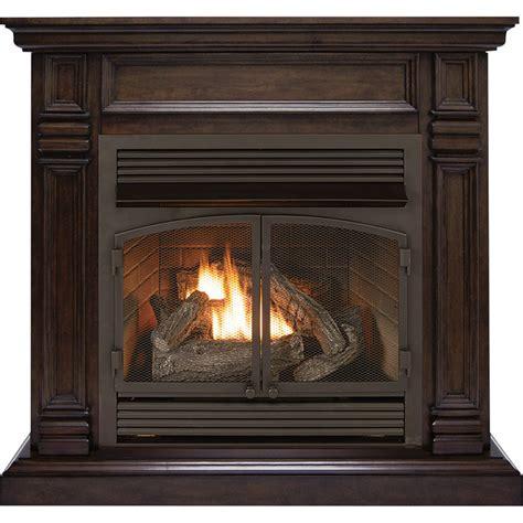 propane gas fireplace product procom dual fuel vent free fireplace 32 000 btu